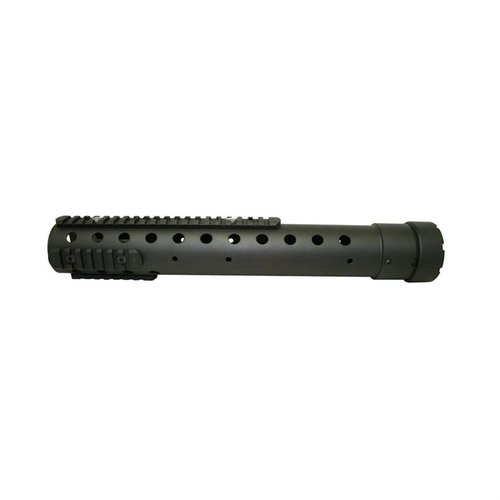 "GEN III 14"" Rnd Free Float Carbon Forearm Black"