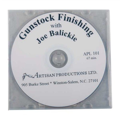 Gunstock Finishing DVD