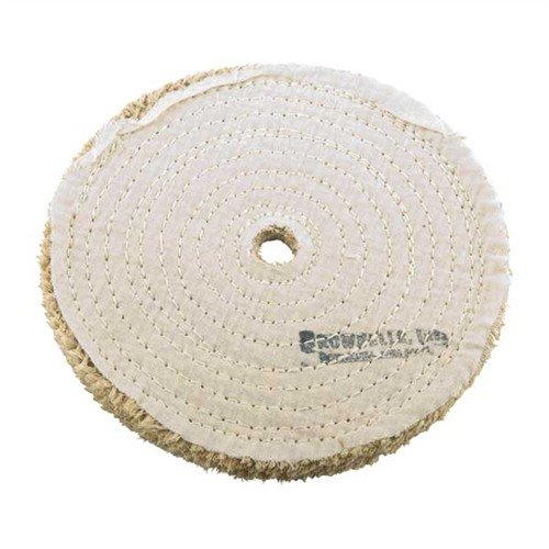 "8"" Sisal Wheel, 3/4"" (19.0mm) Arbor"