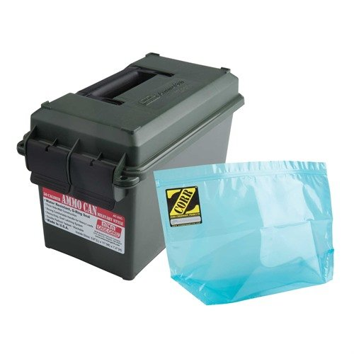 50 Caliber Ammo Can & Liner Polymer Green