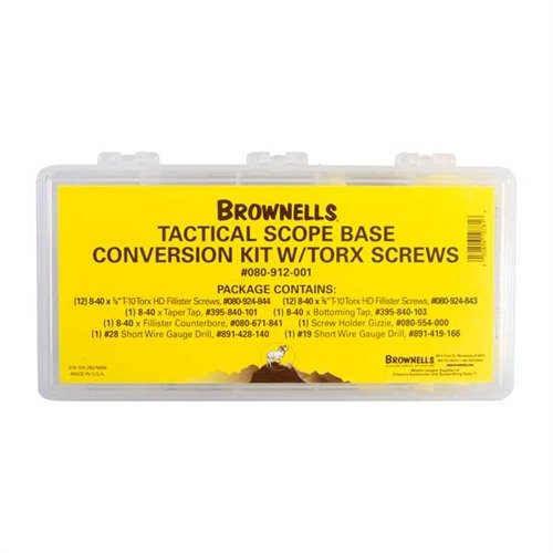 Scope Base Conversion Kit, Torx