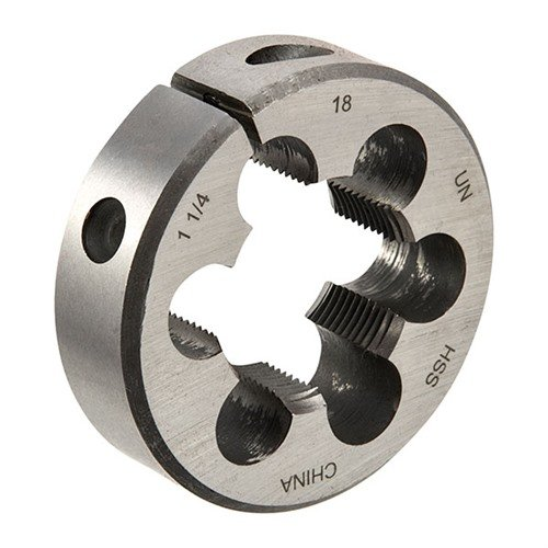 1-1/4-18 ROUND ADJUSTABLE DIE