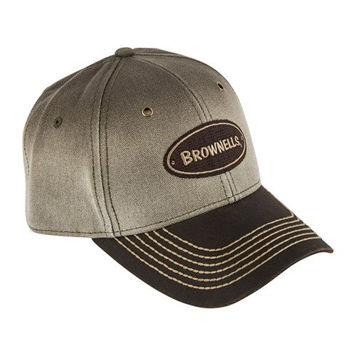 Canvas Two-Toned Brown Cap