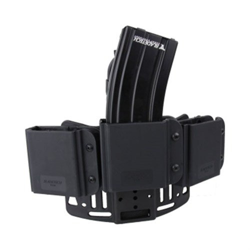 Revolution AR-15/M4 Triple Mag Thigh Rig-Black-Right Hand