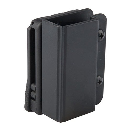 Revolution Single Mag Pouch-Double Stack 9/40-Black-TekLok