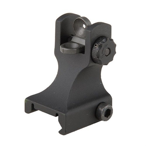 AR-15 Fixed Rear Sight Black