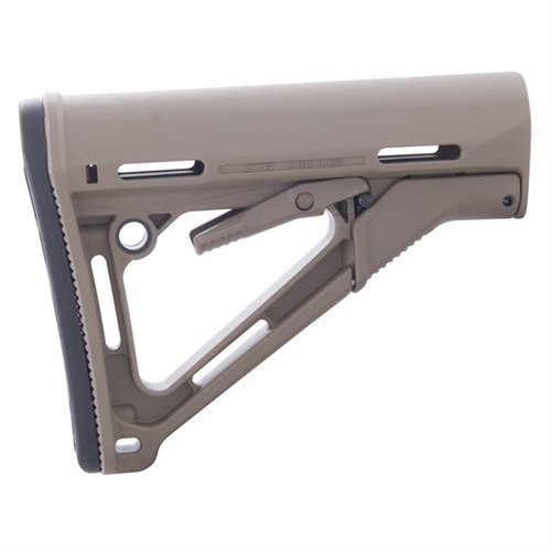 AR-15 CTR Stock Collapsible Mil-Spec FDE