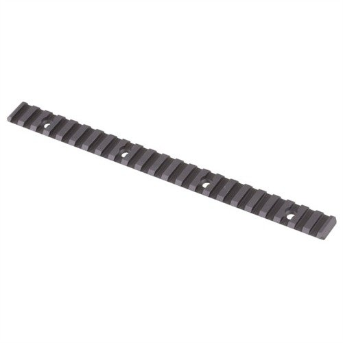 Direct Thread Add-On Rail Picatinny Aluminum Black 9.25""