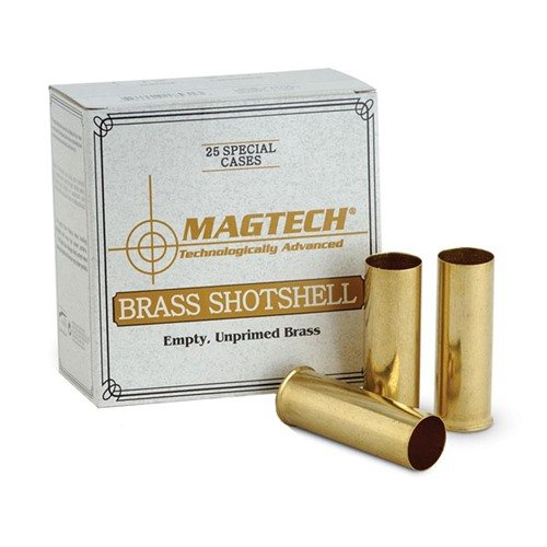 12 Gauge Brass Shotshells