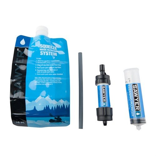 Mini Water Filter System - Blue