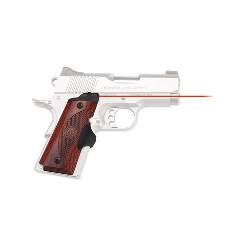 1911 Compact Rosewood Red Lasergrips