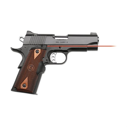 1911 Full-Size Cocobolo Diamond Red Lasergrips