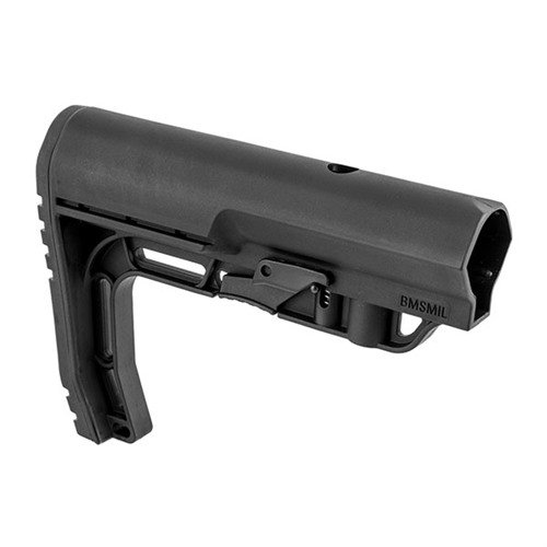 AR-15 Battlelink Minimalist Stock Collapsible Mil-Spec BLK