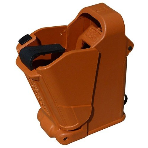 Universal Pistol Magazine Loader-Orange Brown