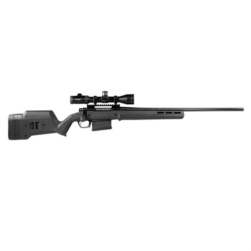 Rem 700 LA Hunter Stock Adj Polymer BLK