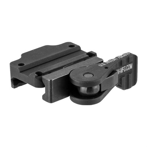 MRO Low Mount, Tactical Lever, Black