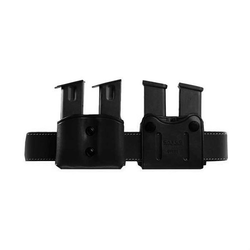 Double Mag Carrier .40 Single Metal Mag-Black