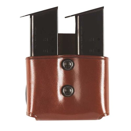 Double Paddle Mag Carrier 40 Staggered Metal Mag-Tan