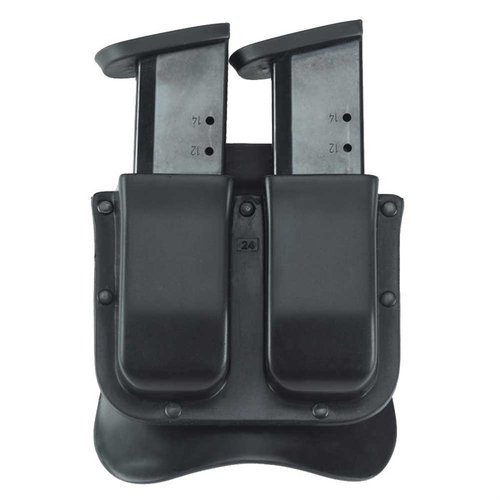 M11X Double Mag Carrier .45 Single Metal Mag-Black