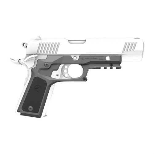 CC3P Grip and Rail System for the 1911-Black and Grey