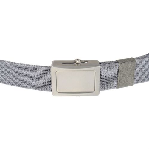 Aegis Belt Stainless Buckle Grey Webbing Small