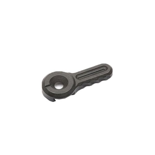 Dovetail Thin Lever Black Phosphate Finish