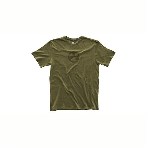 Fine Cotton Icon Logo T-Shirt Olive 3X