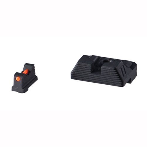 ZEV Sight Set, .230 Fiber Optic Front, Combat v3 Blk Rear