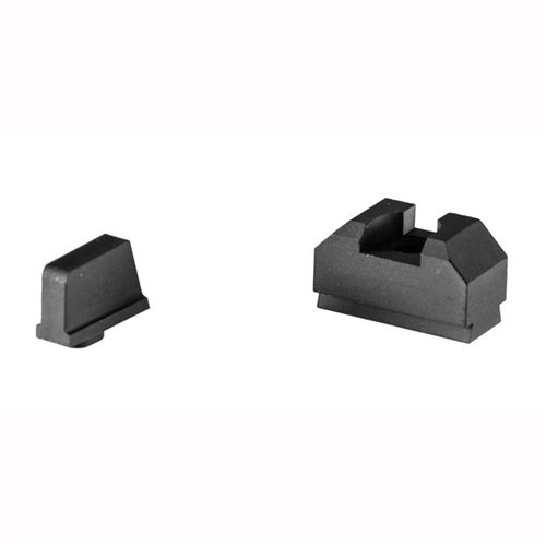 ZEV Sight Set, .300 Black Front, Co-Witness Black Rear