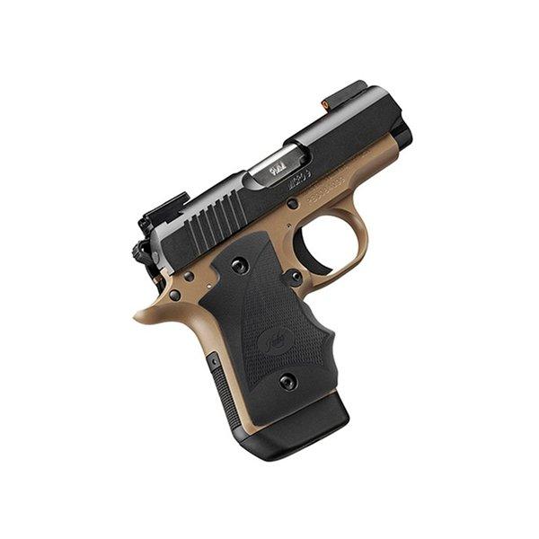 Kimber 3300193 Micro 9 Stainless Dn Pistol: KIMBER MFG. Micro 9 Desert Night D/N Sights 9mm
