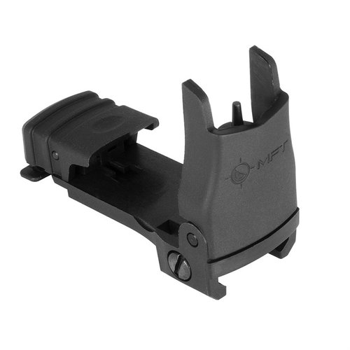 AR-15 Front Sight Flip Up Polymer Black