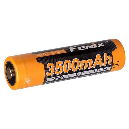 18650 (3.6V) 3500 mAH Rechargeable Li-ion Battery