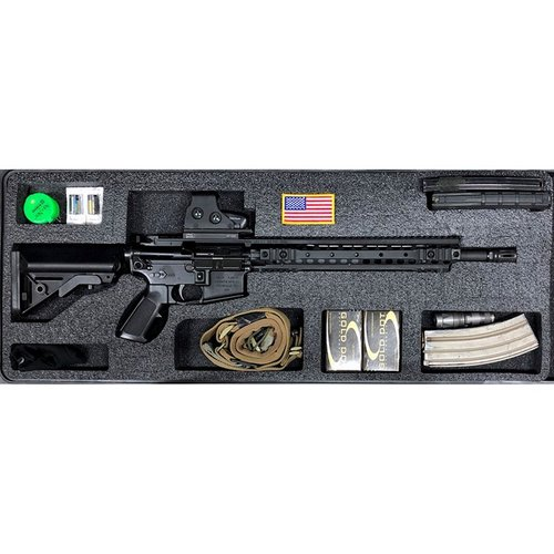 AR-15 Pelican 1700 V1 Top Layer Foam Insert