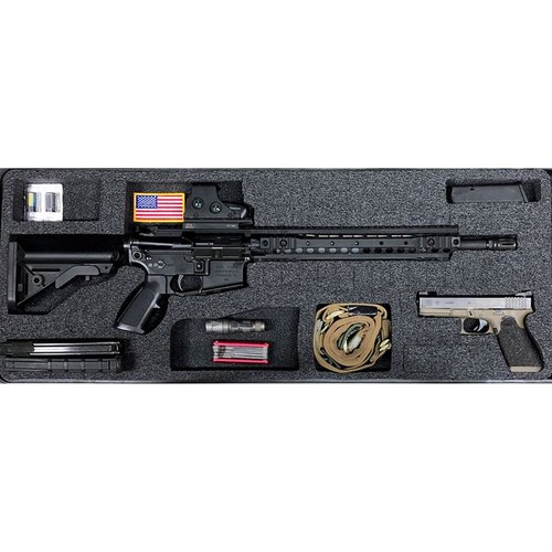 AR-15 Pelican 1700 V2 Top Layer Foam Insert