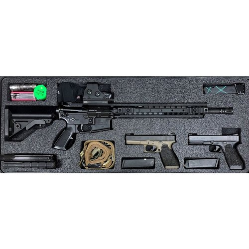 AR-15 Pelican 1700 V3 Top Layer Foam Insert