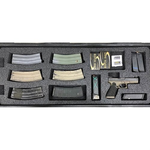 AR-15 Pelican 1700 V2 Bottom Layer Foam Insert