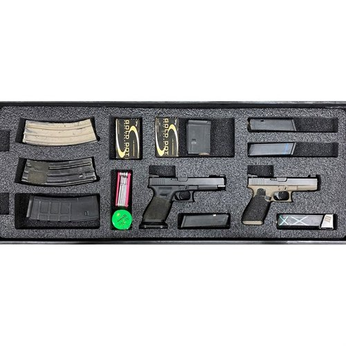 AR-15 Pelican 1700 V3 Bottom Layer Foam Insert