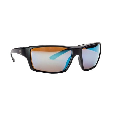 Summit™ Matte Black Frame Bronze Lens w/ Blue Lens Mirror