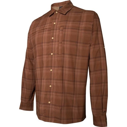 Long Sleeve Speed Concealed Carry Shirt Bark 2XL