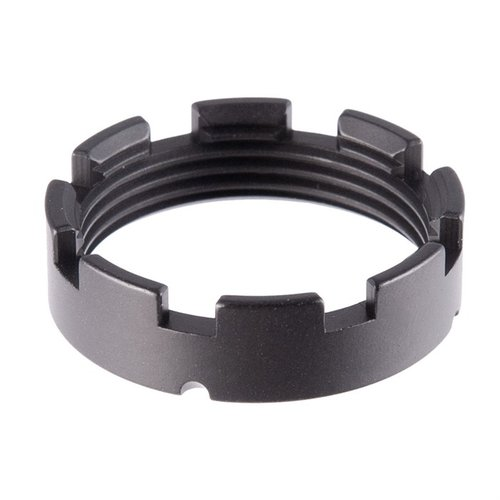 AR-15 Lightweight Castle Nut Blk
