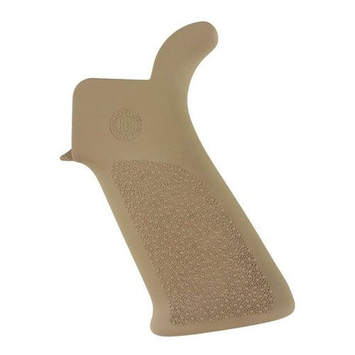 AR-15 Beavertail Grip Rubber Flat Dark Earth No Fingergroo