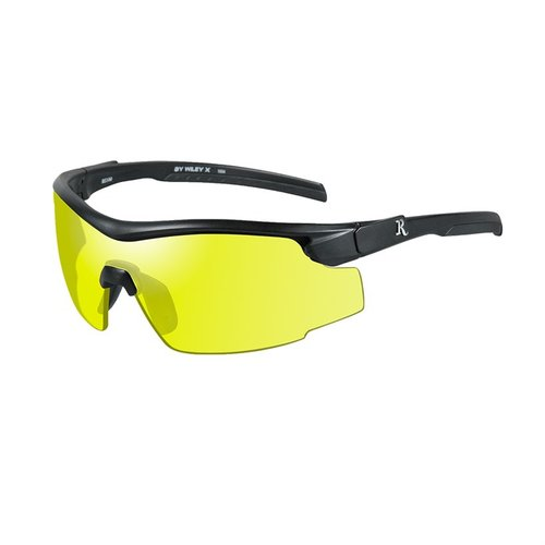 Remington Adult Glasses-Black Frame-Yellow Lens
