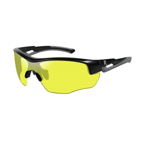 Remington Youth Glasses-Black&Grey Frame-Yellow Lens