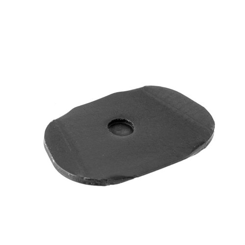 Support Plate, Sport, Black, SS, Two Tone
