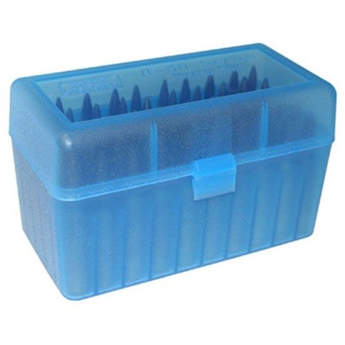 Ammo Boxes Rifle Blue 222 Remington - 6x47 50