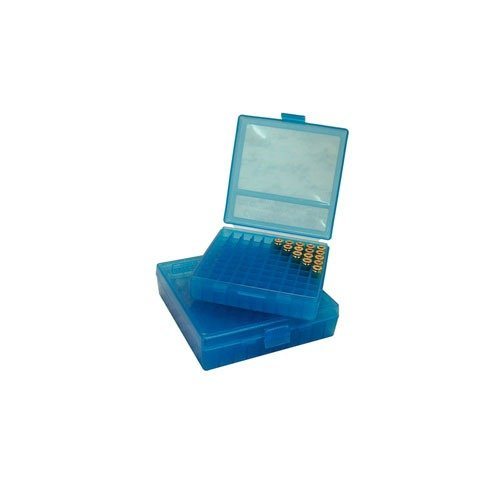 Ammo Boxes Pistol Blue 9mm-380 100