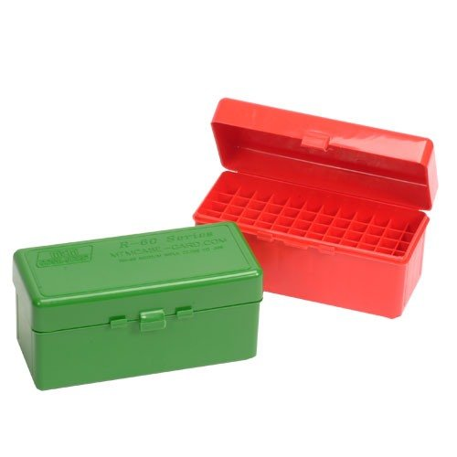 Ammo Boxes Rifle Red 22-250 Rem- 6.5/308 Winchester 60