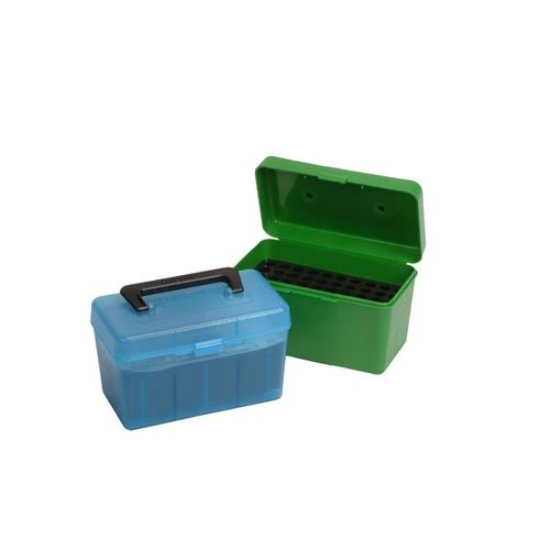 Ammo Boxes Rifle Green 6mm Remington - 30-06 Springfield 50