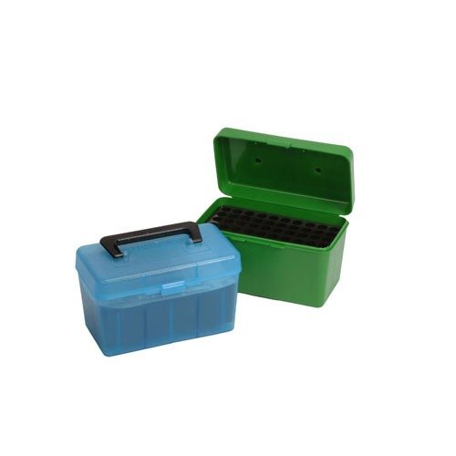 Ammo Boxes Rifle Blue 6.5x284 Winchester 50