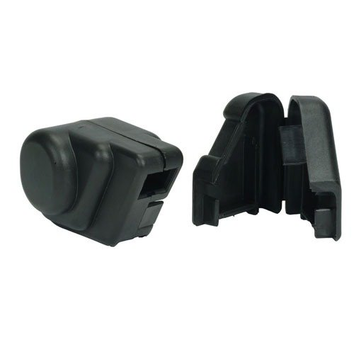 AR-15 Clamshell Sight Covers Black
